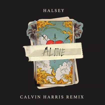 Halsey & Calvin Harris – Alone Remix Ft Stefflon Don