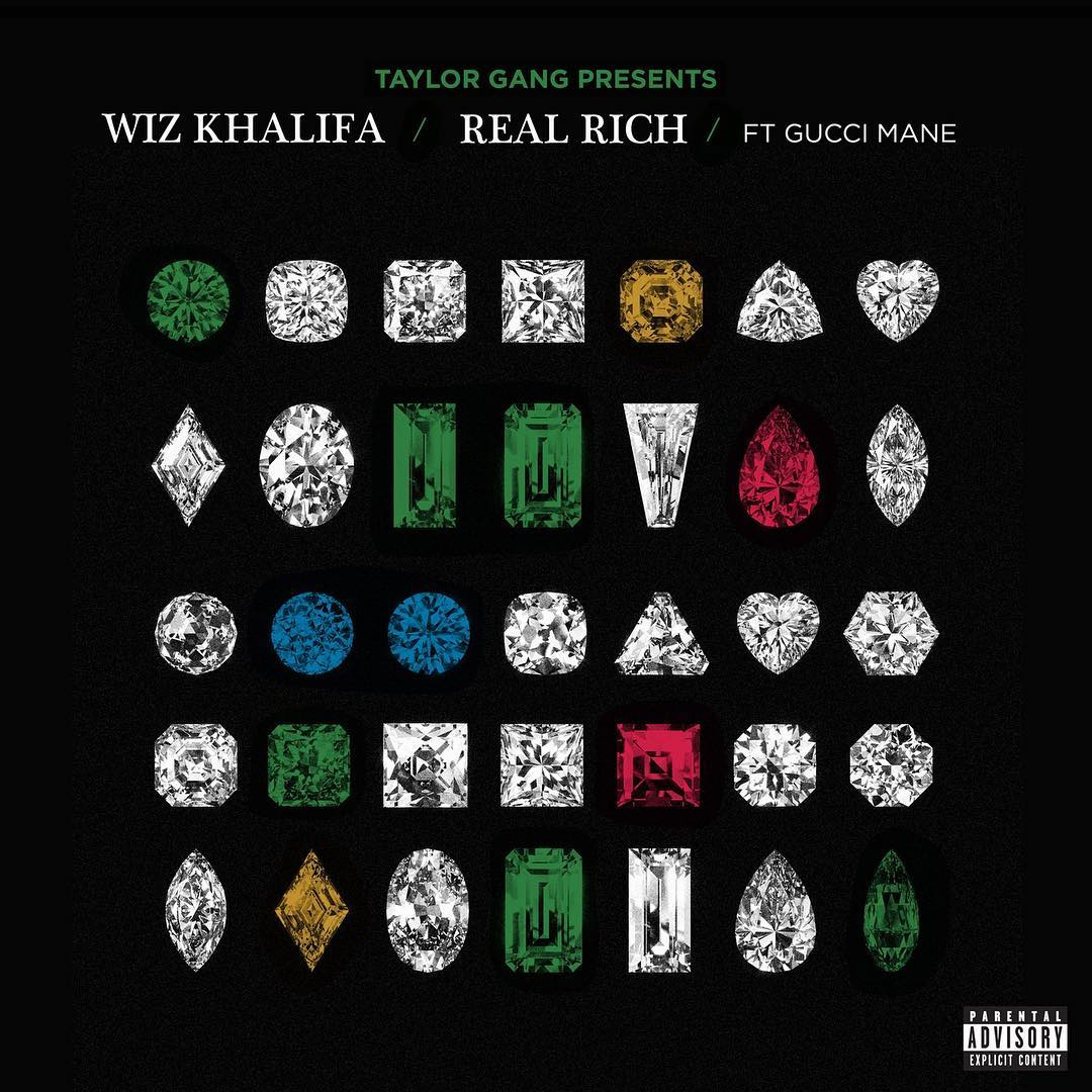 Wiz Khalifa – Real Rich Ft Gucci Mane