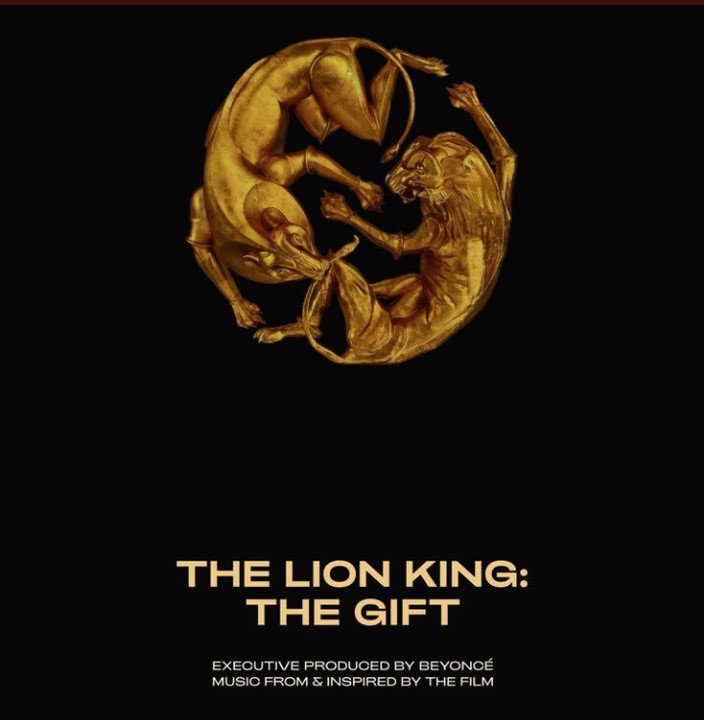beyonce lion king the gift album