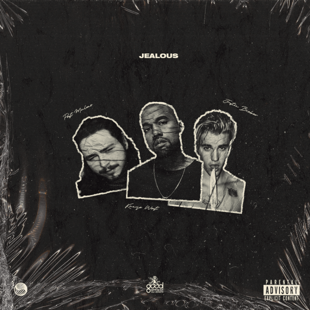 Kanye West - Jealous Ft Post Malone & Justin Bieber