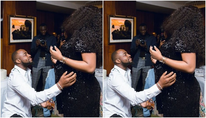Davido and Chioma Avril
