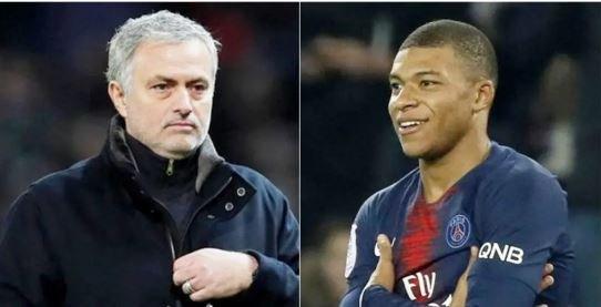 Mourinho and Mbappe