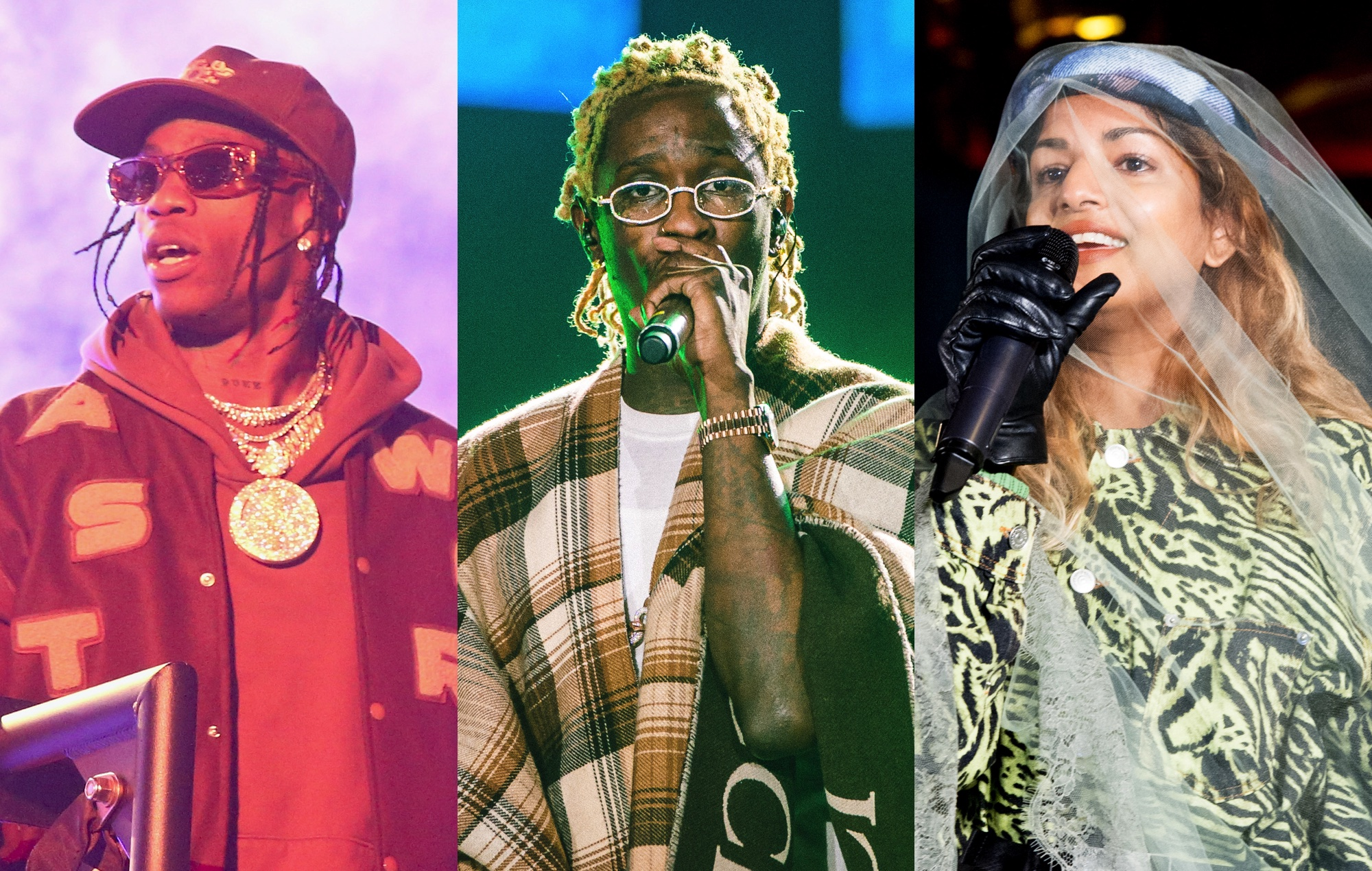 Travis Scott, Young Thug & M.I.A