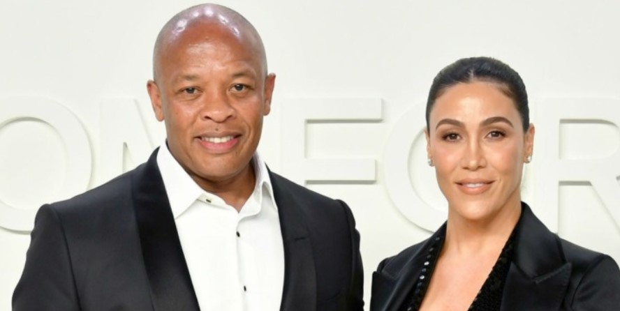 Dr Dre and Nicole Young.