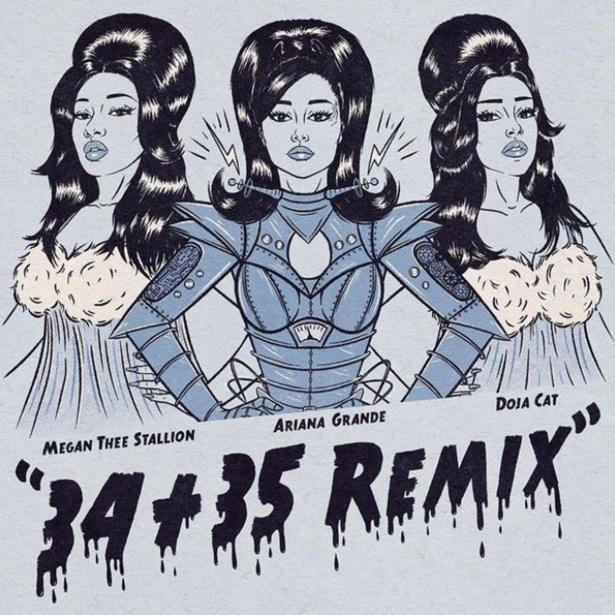 Ariana Grande - 34+35 (Remix) Ft. Megan Thee Stallion & Doja Cat